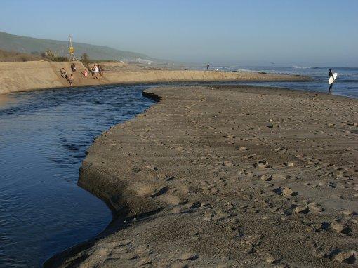 San Mateo Creek Meets Upper Trestles -- 4/1/11