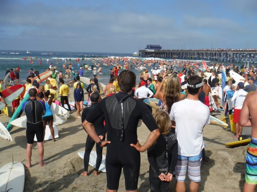 Paddle Out for Ben Carlson -- 7/13/14